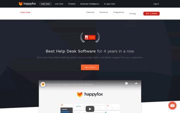 HappyFox Help Desk Software Web Design