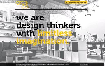 Arc & Co. Design Collective | Branding, Packaging & Exhibit Design Web Design