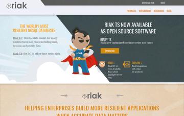 Enterprise NoSQL Database Riak Web Design