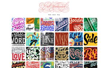 Erik Marinovich portfolio Web Design