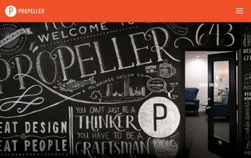 Propeller | Milwaukee Design and Marketing Communications Web Design