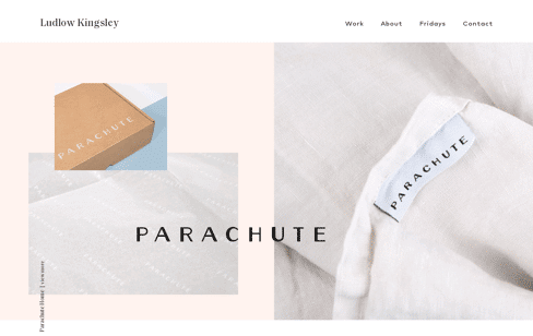 LUDLOW KINGSLEY | Los Angeles Creative Agency Web Design