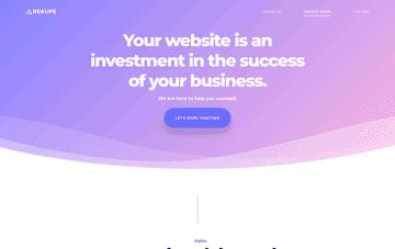 Rekupe - Los Angeles Based Web Design Agency Web Design