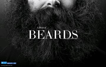 A Book of Beards Web Design