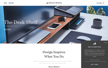 Grovemade: Wooden iPhone Cases, Desk & Mac Accessories        Web Design