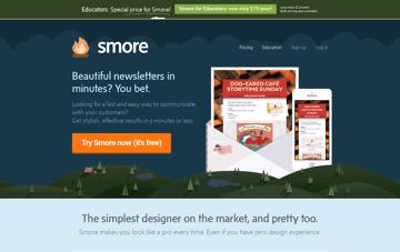 Smore Newsletters  Web Design