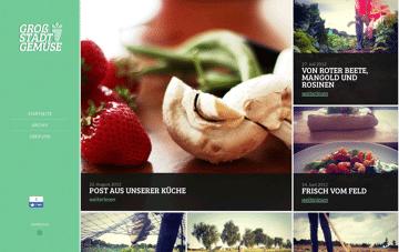 Großstadtgemüse Web Design