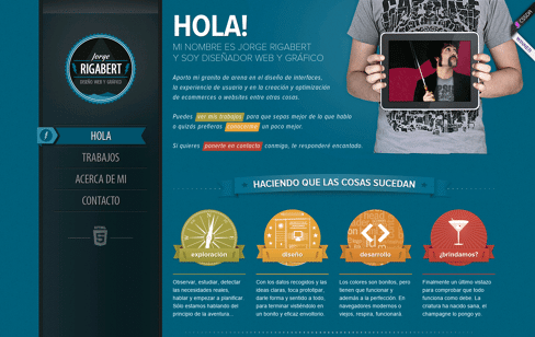 Jorge Rigabert Web Design