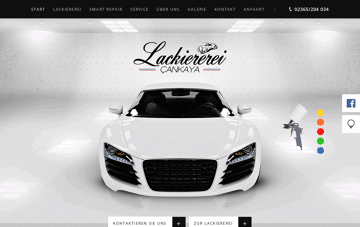 Autolackiererei Cankaya Web Design