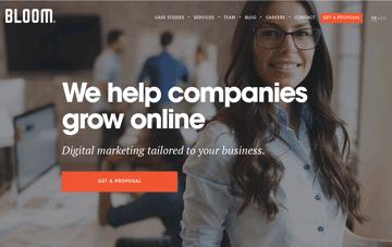 Bloom: Paid Search, Search Engine Optimization, CRO Web Design