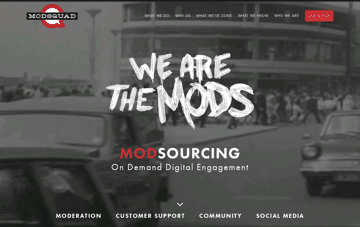 ModSquad: Customer Support, Social Media, Moderation, Community Web Design