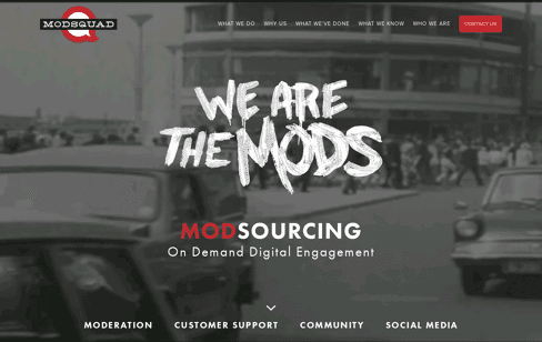ModSquad: Customer Support, Social Media, Moderation, Community Web Design