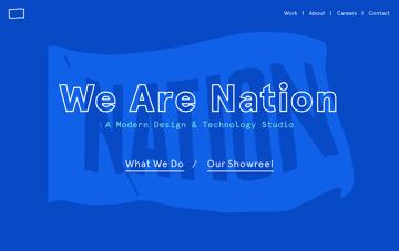 Nation   A Modern Design & Technology Studio Web Design