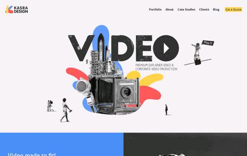 Kasra Design Web Design