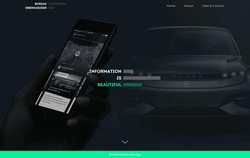 Bureau Oberhaeuser Web Design