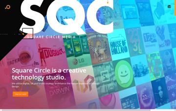 Square Circle Media Web Design