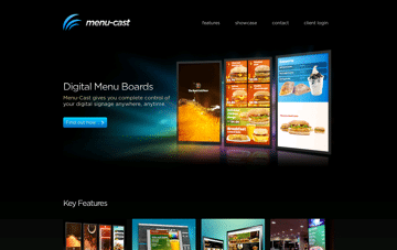 Menu-Cast Web Design