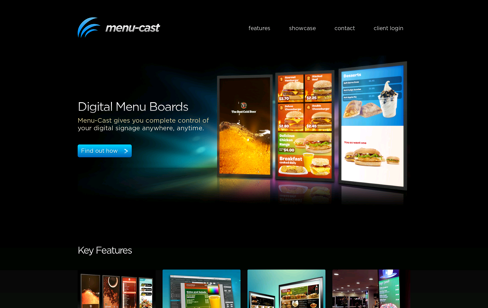 Menu-Cast Web Design