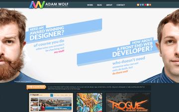 Adam Wolf Web Design