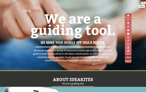 Idea Kites Web Design