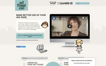 Notfound.org Web Design