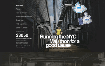 Running for Cause Web Design