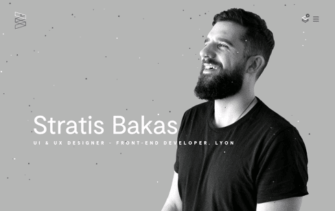 Stratis Bakas UI & UX designer - Front-end developer Web Design
