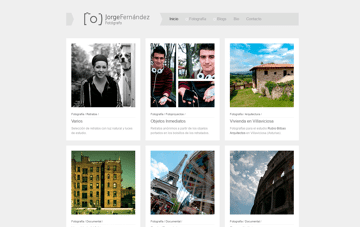 Jorge Fernández Alvarado Web Design