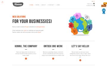 Konnu - Webdesign & Drupal development Web Design