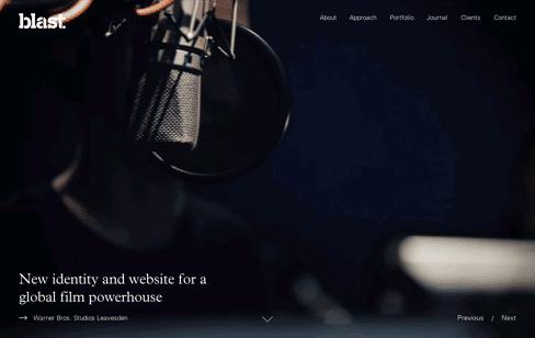 Blast Design Web Design