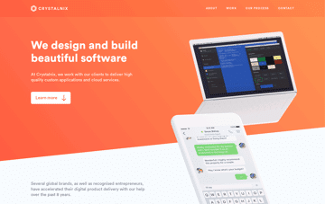 Crystalnix Web Design