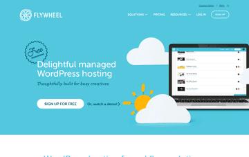 Flywheel | Managed WordPress Hosting for Designers and Agencies Web Design