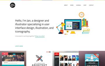 Jan Cavan | Designer, Illustrator & Iconographer Web Design