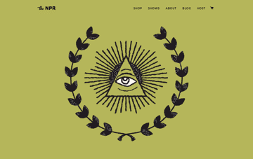 The National Poster Retrospecticus Web Design