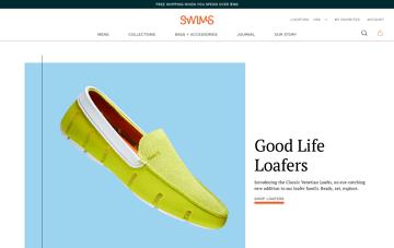 Swims Web Design