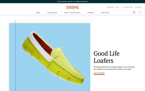 Swims Web Design
