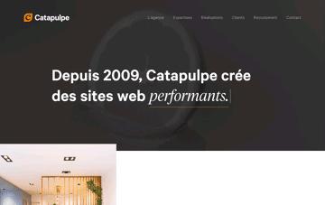 Catapulpe : Conception de Sites Web Web Design