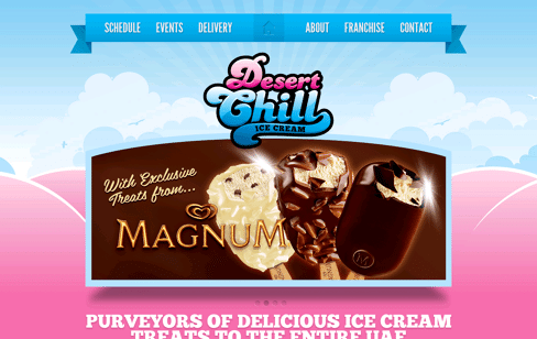 Desert Chill Web Design