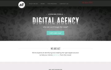 Alt Agency Web Design