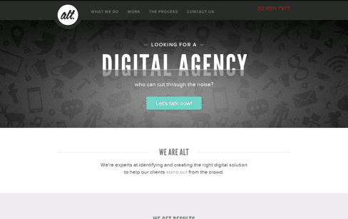Alt Agency Web Design