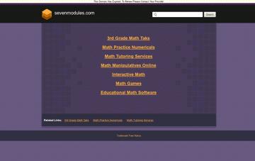 SevenModules: Lets Build Your Brand Web Design