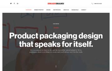 SmashBrand Web Design
