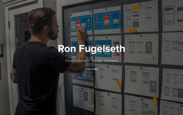 Ron Fugelseth's Personal Portfolio  Web Design