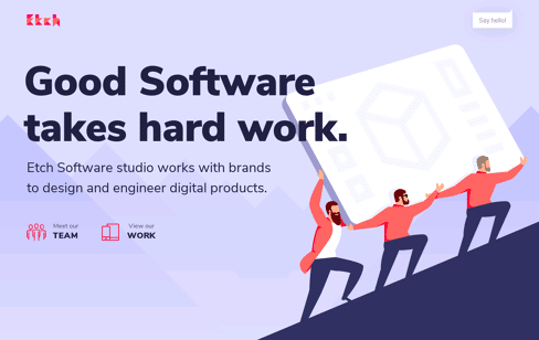Etch Software Studio – Web App Design & Development Web Design