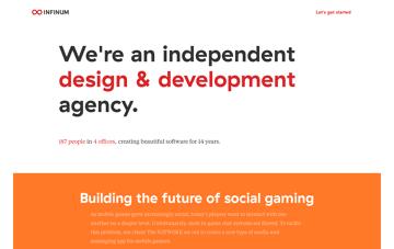 Infinum | App design & development Web Design
