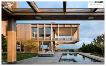 James Merrell Architects | Hamptons Architects in Sag Harbor NY Web Design