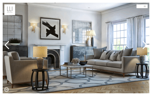 LLI Design - Interior Designer London Web Design