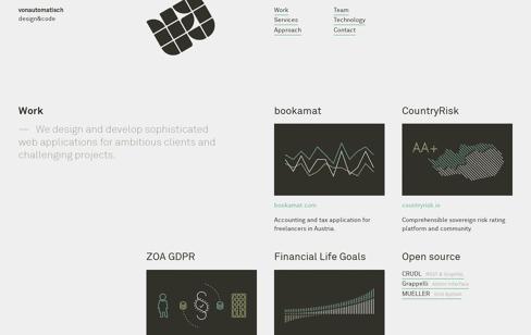 vonautomatisch Web Design