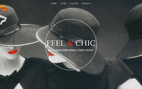 Feel & Chic | Outlet Moda offerte abbigliamento donna e uomo Web Design