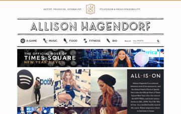 Allison Hagendorf Web Design
